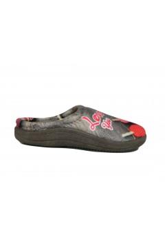 NATURAL 7 Pantofole Ciabatte Donna Profumate Stampa Cuori Ciabatte e Infradito NAT7MR