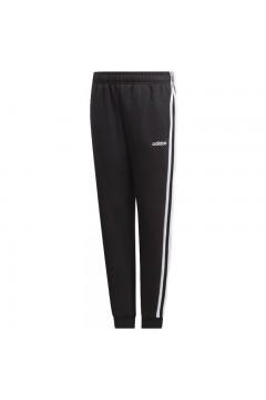 Adidas EI7937 YB TR 3 Stripes Pants Pantalone Unisex Acetato Nero Abbigliamento Bambino EI7937