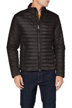 Geox M0421H Wilmer Short Jacket Giubbotto 100 gr Uomo Nero  Giacche M0421HT2606F9000
