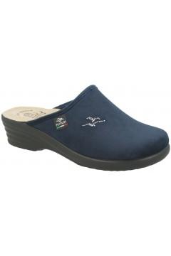 Fly Flot L8P17 PE Pantofole Donna in Panno con Plantare Anatomico Blu  Ciabatte e Infradito L8P17PEBL