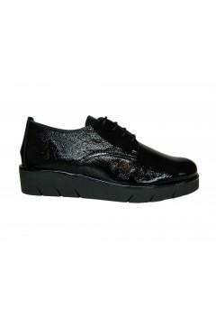 The Flexx D2509 38 Arielle Naplack Scarpe Donna Stringate Nero Francesine e Sneakers D250938NNR