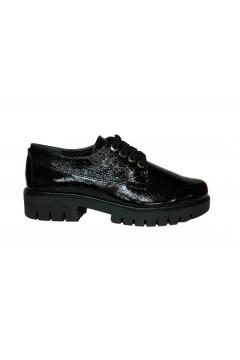 The Flexx E2056 02 Lincon Park Naplack Scarpe Donna Stringate Nero Francesine e Sneakers E205602NNR