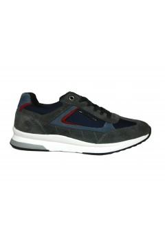 Lumberjack Blake SM87012 Scarpe Uomo Sneakers Stringate Grigio Sneakers SM87012004M1021