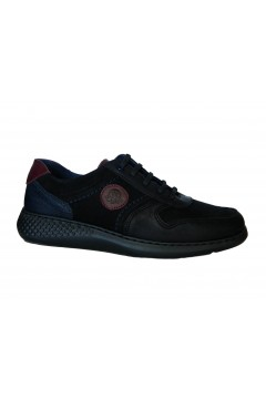 NOTTON 78 Scarpe Uomo Stringate in Vera Pelle Extra Light Nero Casual N78NR