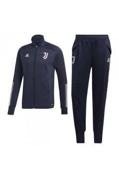 Adidas FR4282 Juve Tk Suit Tuta Completa Juventus 2020 21 Blu Tute FR4282
