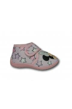 Minnie WD12784 Pantofole Bambina a Strappo in Panno Unicorno Rosa Scarpe Bambina WD12784