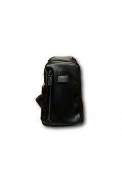 Coveri Collection C5052-6 Tracolla Uomo Monospalla 3 Zip Nero Borse e Tracolle C50526NR