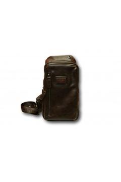 Coveri Collection C5052-6 Tracolla Uomo Monospalla 3 Zip Marrone Borse e Tracolle C50526MR