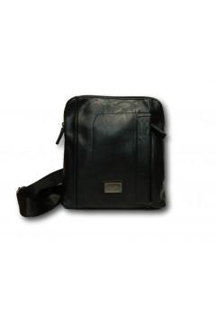 Coveri Collection C5052-3 Tracolla Uomo Media con Zip Nero Borse e Tracolle C50523NR