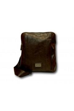 Coveri Collection C5052-3 Tracolla Uomo Media con Zip Marrone Borse e Tracolle C50523MR