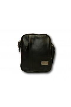 Coveri Collection CC5038-5 Tracolla Uomo Piccola con Doppia Zip Nero Borse e Tracolle CC50385NR