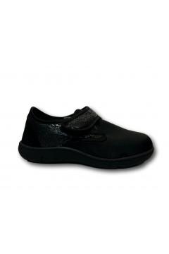 Sani Gold 5254 Scarpe Donna Pantofole Con Strappo Regolabile Nero Ciabatte e Infradito S5254NR