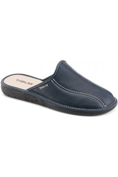 Tiglio 858 Pantofole Uomo Blu Ciabatte & Sandali T858BL