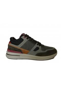 RIFLE Stark 25025 Scarpe Uomo Sneakers Stringate Memory Coffee Taupe Sneakers RFM25025CT