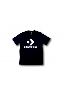 Converse 10018568 Tshirt Uomo Star Chevron Nero T-Shirts 10018568A01