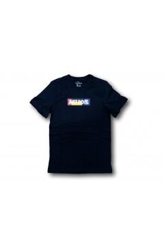 Nike CU7376-010 Tshirt Uomo Just Do It Nero T-Shirts CU7376010