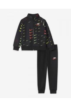Nike 66H204 023 Tuta Completa Neonati Unixes Tricot Nero  Abbigliamento Bambino 66H204023