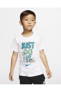 Nike 86G505 001 T-Shirt Bambini Unisex Just Do It  Abbigliamento Bambino 86G505001