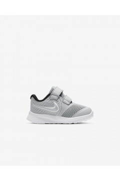 Nike Star Runner 2 (TDV) AT1803 005 Scarpe da Ginnastica Doppi Strappi Grigio Scarpe Bambino AT1803005