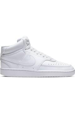 Nike Court Vision Mid Scarpe da Ginnastica Uomo Alte Bianco Scarpe Sport CD5466100