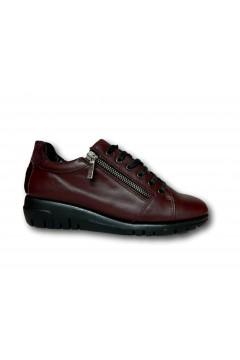 The Flexx F2084 10 Clotilda Scarpe Donna Stringate in Vera Pelle Bordeaux Francesine e Sneakers F208410CBR