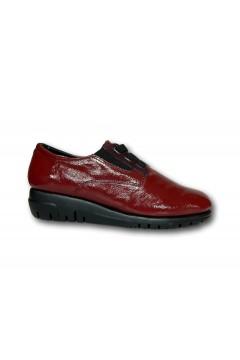 The Flexx F2084 06 Acacia Scarpe Donna Slip On Lacci Elastici in Vernice Bordeaux Francesine e Sneakers F208406ABR