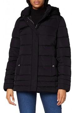 Geox W0428B Aneko Mid Jacket Giubbotto Donna Nero Giacche e Cappotti W0428BT2506F900