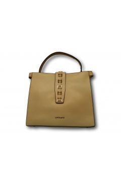 Gold & Gold GG337 Tote Bag Donna Manico Corto con Tracolla Beige Borse GG337BEI