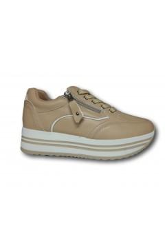 Gallo Shoes - Fremont Sneakers Stringate Platform Nude Francesine e Sneakers GFRMTND
