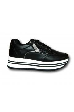 Gallo Shoes - Fremont Sneakers Stringate Platform Nero Francesine e Sneakers GFRMTNR