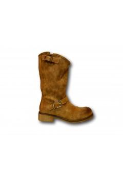 Gallo Shoes Findlay Stivali Estivi Biker Camel Stivali  GFDLYCM