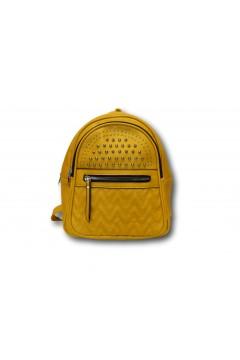 Sagace Collection 2351 Borsa Donna Zaino Borchie Giallo Borse SC2351GL