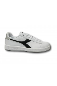 Diadora Game P Sneakers Uomo Stringate White Grey Black Scarpe Sport 10116028101C9338