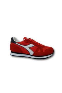 Diadora Simple Run Scarpe Uomo Sneakers Stringate Molten Lava Red Scarpe Sport 1011737450145026