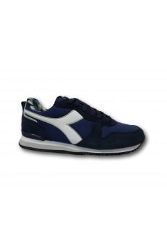 Diadora Olympia Camo Scarpe Uomo Sneakers Stringate Blu Scarpe Sport 1011769730160063