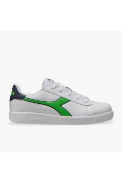 Diadora Game P GS Sneakers Stringate Bianco Blue Verde Scarpe Bambino 10117332301C9164
