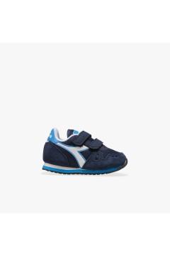 Diadora Simple Run Up TD Scarpe da Ginnastica con Strappi Blu Scarpe Bambino 10117438401C2592