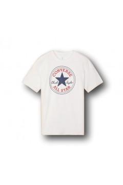 Converse 10007887 Chuck Patch Tshirt Uomo Bianco T-Shirts 10007887A04