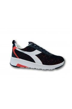 Diadora Evo Run DD Scarpe Uomo Running Plantare Memory Blu Red White Scarpe Sport 1011769770160063