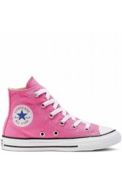Converse 3J234C Chuck Taylor Sneakers Low Bimba Canvas Rosa Scarpe Bambina 3J234C