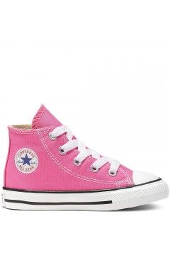 Converse 7J234C Chuck Taylor Sneakers Low Bimba Canvas Rosa Scarpe Bambina 7J234C