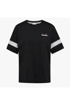 Diadora 102.177100 L.T-SHIRT SS Spotlight Donna Nero T-Shirt & Top 10217710080013