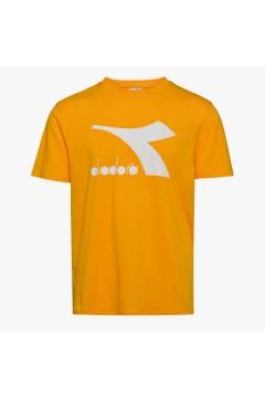 Diadora 102.177168 T-SHIRT SS Big Logo Uomo Giallo T-Shirts 10217716835056