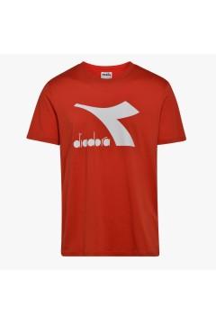 Diadora 102.177168 T-SHIRT SS Big Logo Uomo Rosso T-Shirts 10217716845026