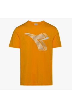 Diadora 102.177082 T-SHIRT SS Fregio Club Uomo Giallo T-Shirts 1021770835056