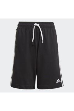 Adidas GN4007 Short Essentials 3-Stripes Pantaloncini Nero Bianco Abbigliamento Bambino GN4007
