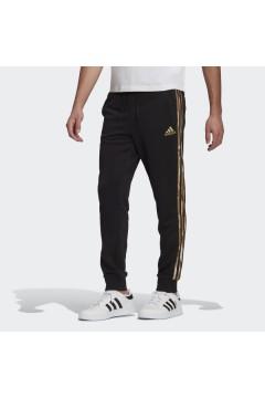 Adidas GL0055 Pantaloni Uomo Essential Camouflage Nero Pantaloni e Shorts GL0055