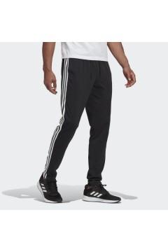 Adidas GK8995 Pantaloni Uomo Cotone Essentials 3-Stripes Nero Pantaloni e Shorts GK8995