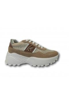 KEYS K 4300 Scarpe Donna Sneakers Volume Stringate Rosa Francesine e Sneakers K4300PNK