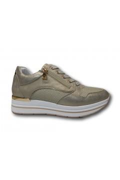 Inblu IN255 Scarpe Donna Sneakers Platform Stringate Platino Francesine e Sneakers IN255PLA
